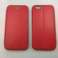 Чехол книжка для iPhone 6 6s Baseus Premium Edge телефона с магнитом Красный