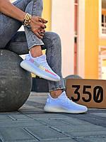 Женские кроссовки Adidas Yeezy Boost 350  \ Адидас Изи Буст 350 Белые \ Жіночі кросівки Адідас Ізі Буст 350