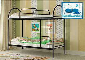 Двухъярусная металлическая кровать Сеона 80х190см Мадера