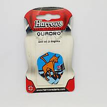 Оперение для дротиков дартс Quadro Harrows 6 штук, фото 3