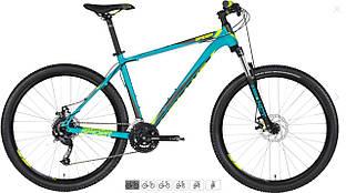 Велосипед Kellys 2020 Spider 10 (27.5˝) Turquoise L (20.5˝)