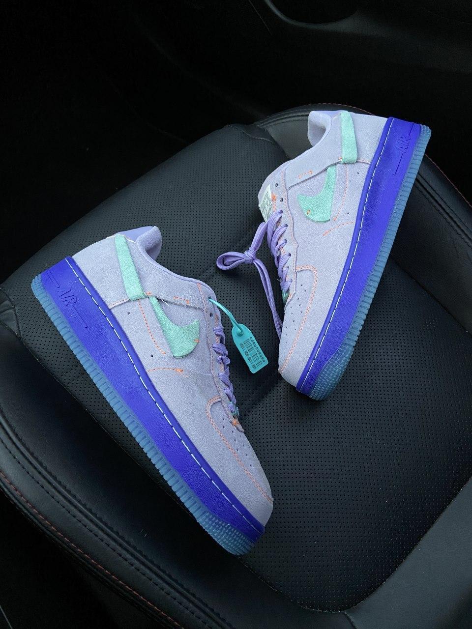 Кроссовки женские Nike Air Force 1 LXX Purple Agate. Женские кроссовки Найк.