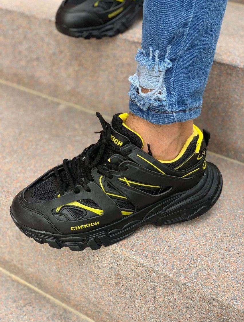 Чоловічі кросівки Chekich CH301 BT Black / Yellow