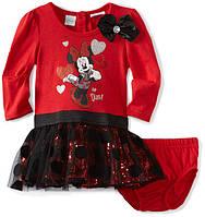"""Платье для девочки +трусики красное """"Disney Baby"""". Размер: годик (рост:69-74 см.)"""