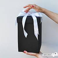 Подарочная упаковка для колбы с розой