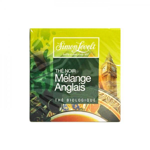 Чай черный пакетированный Английский завтрак Simon Lévelt (10 пак)