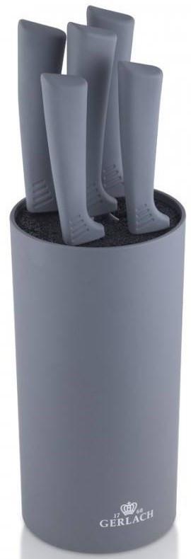 Кухонные ножи и подставки Gerlach 994 Smart Grafit
