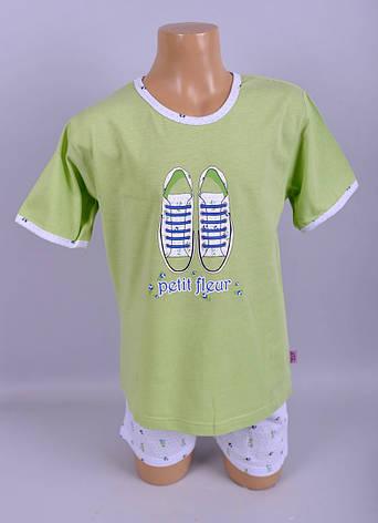Піжама для дівчат  Natural Club 1048 110 см Зелений, фото 2
