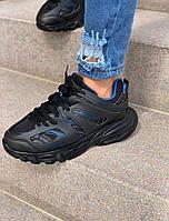 Чоловічі кросівки Chekich CH301 BT Black / Blue, фото 1