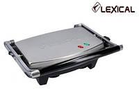 Электрический гриль  LEXICAL LSM-2506 с антипригарным покрытием 2000 Вт.