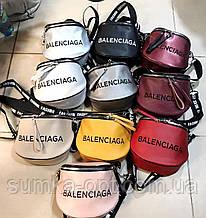 Брендовые сумочки-клатчи на плечо Balenciaga кожвинил (8 цветов)14*19см