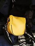 Брендові сумочки-клатчі на плече Balenciaga кожвініл (8 кольорів)14*19см, фото 2