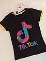 Трендовая футболка для подростков Размеры 6- 12 лет Турция, фото 2