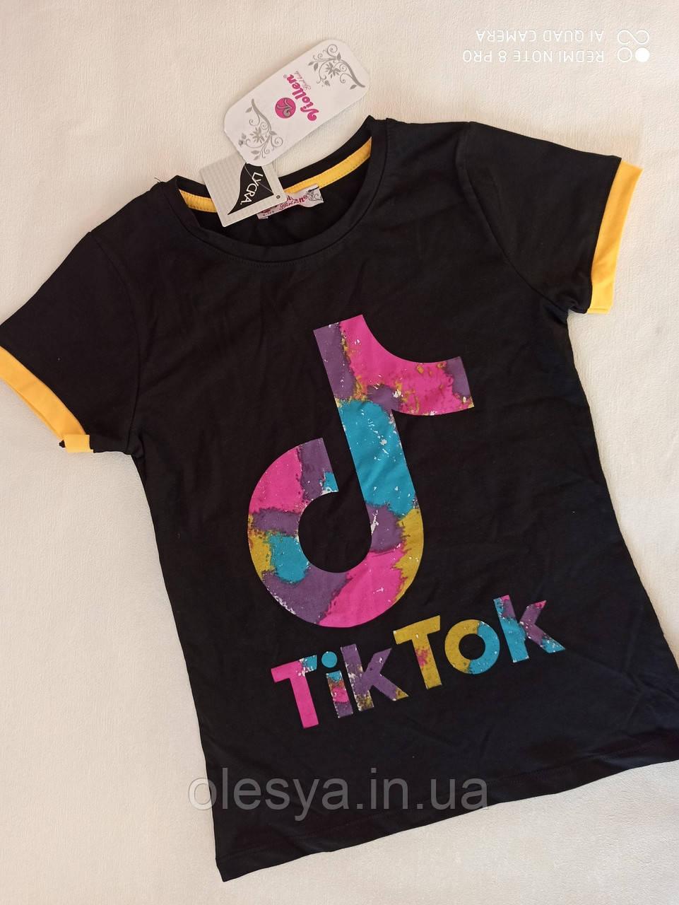 Трендовая футболка для подростков Размеры 6- 12 лет Турция