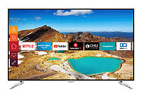 Телевизор Telefunken WU65-MC52 ( Ultra HD / 4K / 1200Hz / Android / Smart TV / HDR10 / DVB-T/T2/S/S2/C)
