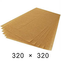 Папір підпергамент в листах 45 грам - 320 мм × 320 мм / 1000 шт
