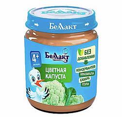 Пюре цвітна капуста Беллакт (Білорусь) з 4 місяців 100 гр