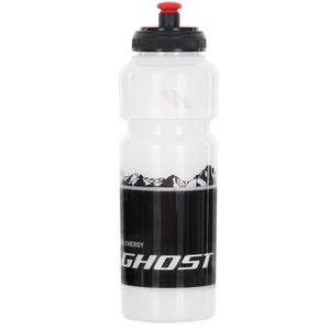 Фляга Ghost, 750 мл, прозоро-чорна