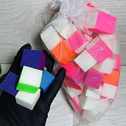 Бафики для полировки и шлифовки разной формы, 60шт