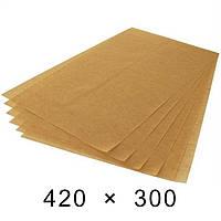 Папір підпергамент в листах 45 грам - 420 мм × 300 мм / 1000 шт