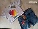Трендовая футболка для девочек Likee Размеры 128- 164 Новинка!, фото 3
