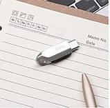 Флешка HOCO USB3.0 Type-C OTG UD8 32GB, серебристая, фото 4