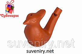 Свистулька водяная глиняная сувенирная