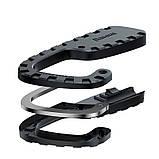 Трос универсальный с крючками BASEUS multi-purpose elastic clothesline, черный, фото 3