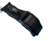 Універсальний адаптер автомобільного ременя безпеки SUNROZ Pregnancy Seat Belt для вагітних Чорний (6742)