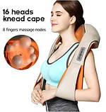 Массажер для спины и шеи Neck Kneading 17635-7 4860, фото 6