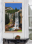 Обігрівач-картина інфрачервоний настінний ТРІО 400W 100 х 57 см, водоспад, фото 2