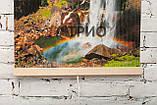Обігрівач-картина інфрачервоний настінний ТРІО 400W 100 х 57 см, водоспад, фото 4