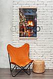 Обігрівач-картина інфрачервоний настінний ТРІО 400W 100 х 57 см, новий рік, фото 3