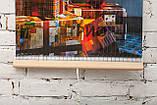 Обогреватель-картина инфракрасный настенный ТРИО 400W 100 х 57 см, новый год, фото 4