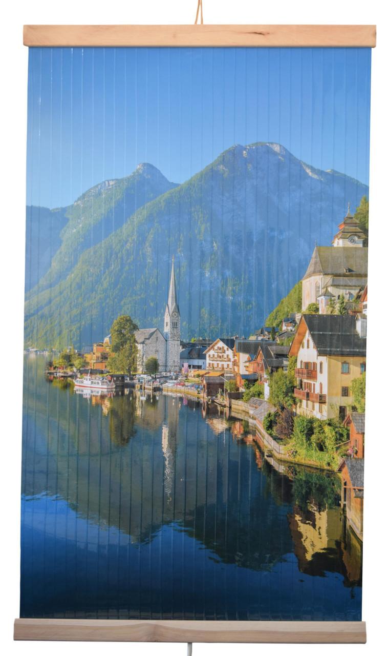 Обогреватель-картина инфракрасный настенный ТРИО 400W 100 х 57 см, горы