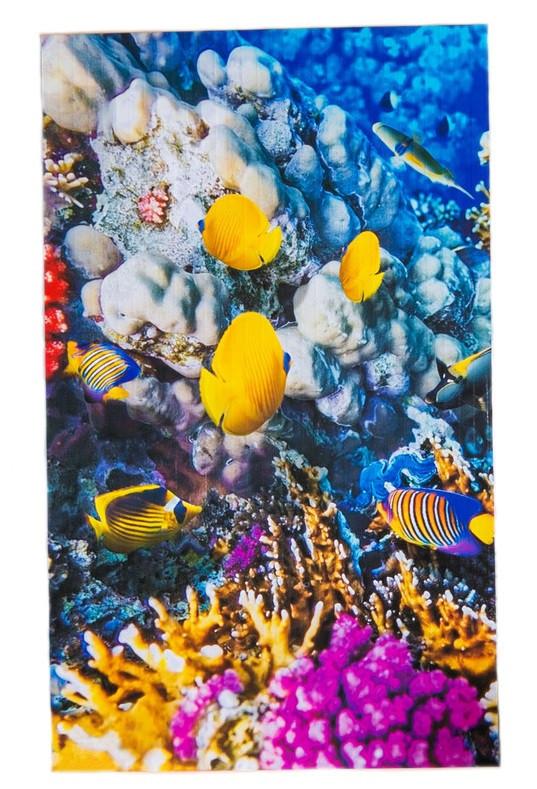 Обогреватель-картина инфракрасный настенный ТРИО 400W 100 х 57 см, коралловый риф