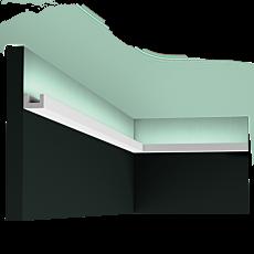 Карниз, молдинг для скрытого освещения CX190, д 200 x в 2 x ш 3 см
