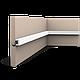Карниз, молдинг для скрытого освещения CX190, д 200 x в 2 x ш 3 см, фото 5