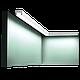 Карниз, молдинг для скрытого освещения CX190, д 200 x в 2 x ш 3 см, фото 2