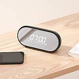 Портативная Bluetooth колонка BASEUS Encok Wireless Speaker E09 с часами, черная, фото 4