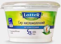 Творог 5% без глютена и лактозы Latter 150г Украина