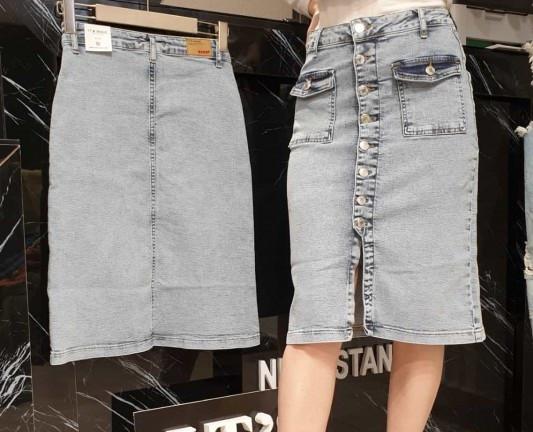Женская джинсовая юбка(Замеры предоставляем)