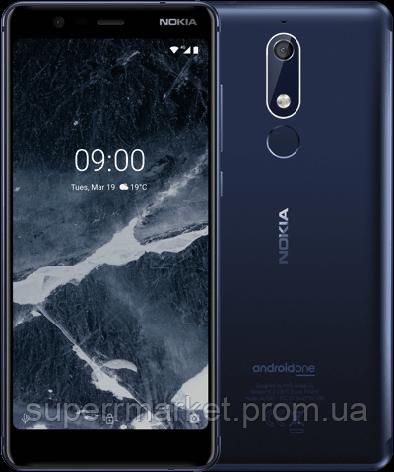 Nokia 5.1 TA-1076 3/32Gb blue, фото 2