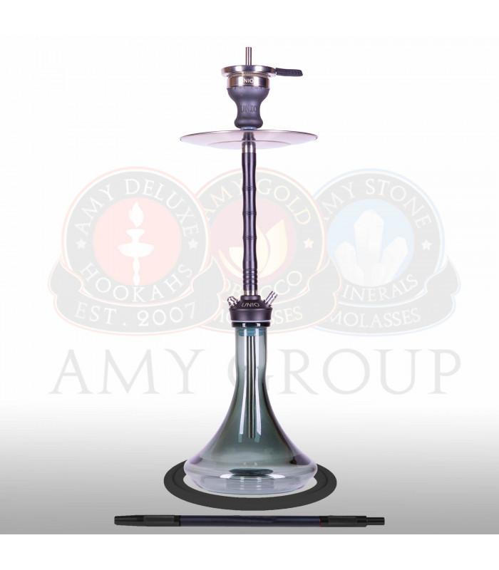 Кальян AMY Unio 006.01 высота 75 см на 1 персону черный