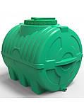 Емкость пластиковая горизонтальная 200 литров трехслойная, фото 4