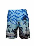 Мужские пляжные удлиненные шорты, фото 2
