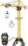 Игрушечный кран детский подъемный на пульте управления башенный Dickie Toys 120 см 1139012