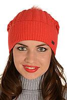 Женская вязаная шапка Юлия