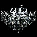 Хрустальная люстра СветМира на 4 лампочки со встроенной LED подсветкой рожков VL-2877/4+8 LED, фото 3