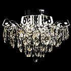 Хрустальная люстра СветМира на 4 лампочки со встроенной LED подсветкой рожков VL-2877/4+8 LED, фото 2